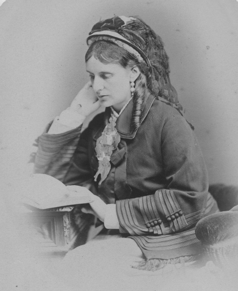 Josephine Butler in her campaigning pose (Women's Library@LSE/ Josephine Butler Society)
