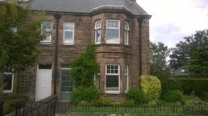 The house in Wooler, Northumberland, where Josephine Butler died.